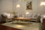 0066 European Antique Bedroom Furniture Solid Wooden Carving Coffee Table