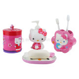 Kids Toothbrush Holder with Cute Cartoon for Bathroom Gargle Products