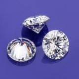 1CT 6.5mm Round Cut Vvs Moissanite Stone for Silver Ring