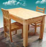 Solid Wooden Dining Table Living Room Furniture (M-X2888)