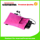 Promotional Velvet Drawstring Bag for Phone MP3 Gift Jewelry Packaging