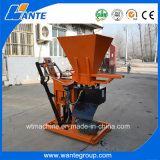 Factory Direct Sale Diesel/Motor Engine Interlocking Clay Wt1-25 Brick Making Machine