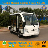 Zhongyi 8 Enclosed Shuttle Bus with Ce Certification for Resort