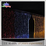 Outdoor Holiday PVC Wire LED Curtain Fairy Decoration Lights