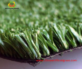 PE Fibrillated Yarn Artificial Grass for Tennis and Football