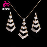 2016 Gold Plated Fashion Jewelry Sets Best Price Brass Hot Sale Products