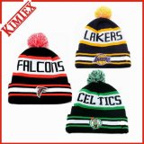 Winter Acrylic Promotion Knitted Hat Cuffed Jacquard Beanie