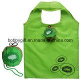 Custom Fruit Style Foldable Polyester Hand Shopping Bag