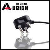 Model Dnf-16 16A 250V South Africa and India Used3 Pin AC Power Cord with Plug