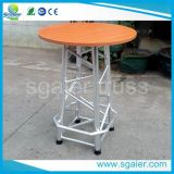 Modern Custom Aluminum Truss Bar Table and Chair on Sale