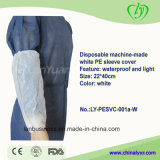 Disposable Machine-Made White PE Sleeve Cover