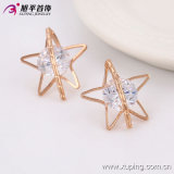 90579 Nice Fashion Crystal Five-Pointed Star Jewelry Studs Earring