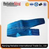 Cargo Lifting Rigging Hardware Polyester Duplex Webbing Slings