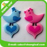 Bird Shape Soft PVC Rubber Fridge Magnet Souvenir