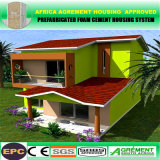 Two Storey Solar Prefabricated Villa / Steel Modular Building/ Prefab House