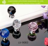 Cheap Different Color Brilliant Crystal Bedroom Cabinet Knobs