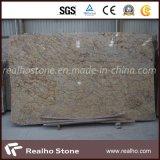 Hot Countertop Granite Slab Diamond Giallo Granite Slab