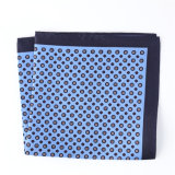Luxury Silk Polyester Dots Plaid Flower Printed Pocket Square Hanky Handkerchief (SH-101)