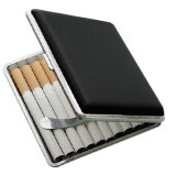 PU Leather Cigarette Box Storage Case Holder 20PCS Cigarettes Cases