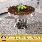 Hot Selling Marble Top Round Coffee Table Set