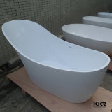 Sanitary Ware Acrylic Solid Surface Small Adult Simple Bath Tub (BT170928)