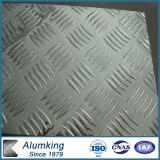 Diamond Checkered Aluminium Plate 5052/5005 for Antiskid Floor