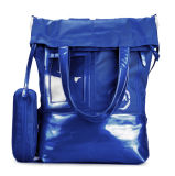 Fashion Candy Color Polyester Luggage Bag