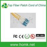 Fiber Optic LC Single Mode Duplex Connector