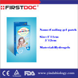 New Products Japan Technology Fever Reducing Cooling Gel Patch Suitable for Kids and Adults