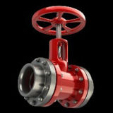 Stainless Steel Seal Flange Type Pneumatic Knife Gate Valve with Prices