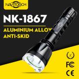 Aluminum CREE XP-E LED Handheld Rechargeable LED Flashlight