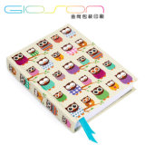 Owl Printing Note Book/ Hardback Exercise Book/ Notebook