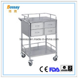 Medical Stainless Steel Treatment Cart