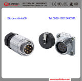 Electrical Waterproof Metal Connector 7 Pin with UL Approved
