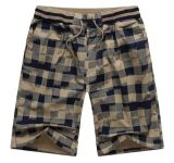 Mens Plaid Pattern Comfort Shorts