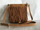 New Designer Suede Tassel Crossbody Bag for Women