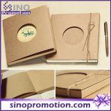 Custom High Quality Kraft Hardcover Cheap School Notebook