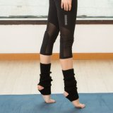 Custom Wholesale Women′s Anti-Slip Sole Half Toe Yoga/Pilates Socks, Non Slip Socks, Injinji Five Toe