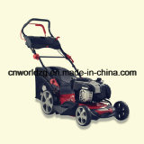 Wheel Type Lawnmower with Rotary Blades
