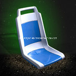 Plastic Seat for City Buses (YF06)