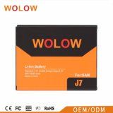 Hot Sales Lithium Battery Mobile Phone Battery for Samsung J7