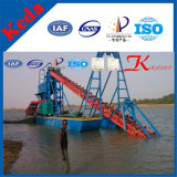 80m3/H Bucket Chain Diamond and Gold Dredger in Mali