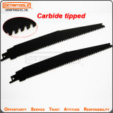 150mm Carbide Tipped Reciprocating Saw Blade for Nail Embedded Wood