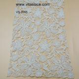 Wholesale White Cotton Lace Fabric for Home Textile Vs-2005