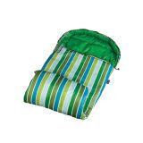 New Fashion Stripe Green Children Sleeping Bag