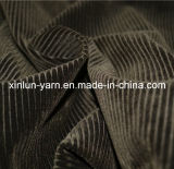 100%Polyester Embossed Flocking Knitted Fabric Roll for Sofa