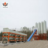 Bucket Type Hzs120 Fixed Large Ready Mixed Cement Mixer Aggregate Stabilized Soil Dry Concrete Mixing Plant in China