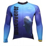 Men′s Long Sleeve Breathable Quick Dry Cycling Bike Jersey