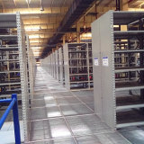 Steel Mezzanine Floor Supported by Rack
