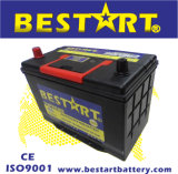 12V 75ah Automobile Electric Vehicle Car Battery Maintenance Free 75D31r
